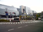 The futuristic Kyoto Station
